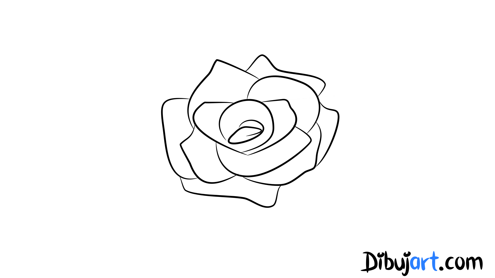Rosa dibujo facil images galleries for Comedor facil de dibujar