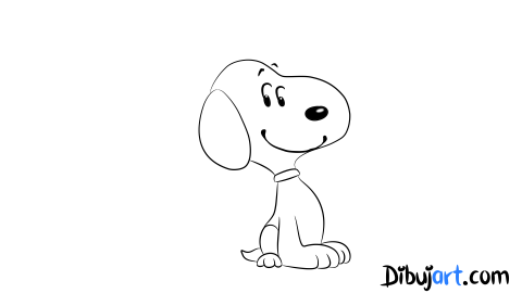 "Como dibujar a Snoopy ""Peanuts Movie"" (2015) - Sketch 