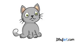 Dibujo de un gato
