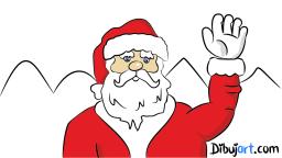 Dibujo de Papa Noel