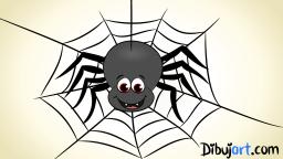 Imágen de una araña clipart