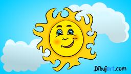 Dibujo de un sol- Clipart